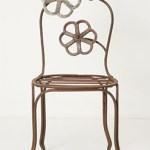 Serge Rosenzweig Furniture Shabby Chic Metal Chairs $149.95