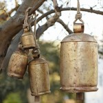 Gorgeous Rustic Gold Temple Bells Spiritual $19 – $79