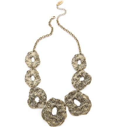 Unique Necklaces Adia Kibur Hammered Metal Collar