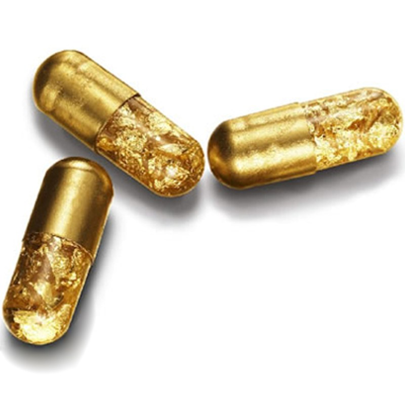 Pure Gold Pills Gift For Person That Has Everything