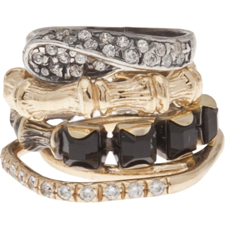 Buy Stackable Rings Rrom Iosselliani Jewelry