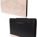 Artessorio Bag Leather Portfolio Envelope Clutch FREE WORLDWIDE SHIPPING