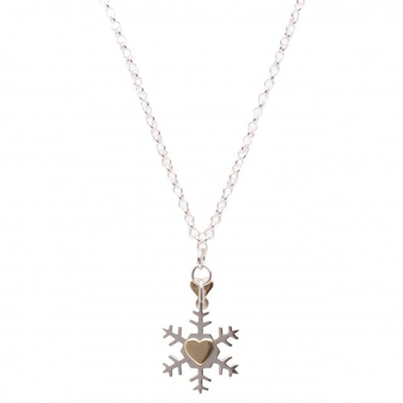 Molly Brown Necklace Cute Snowflake Pendant