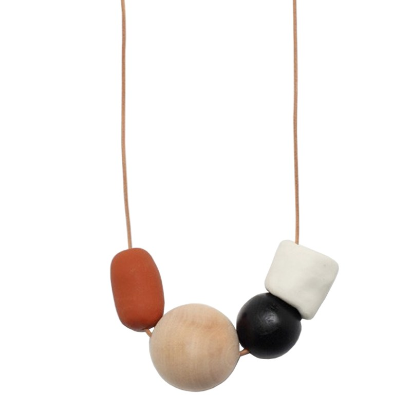 Ceramic Necklace Beads