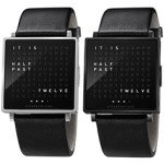 Coolest Mens Watch Biegert & Funk QLOCKTWO W FREE SHIPPING