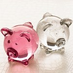 French Crystal Pig Baccarat Crystal Gifts $205 FREE SHIPPING