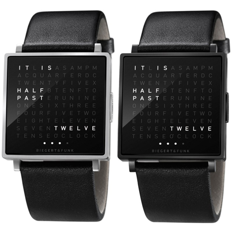 Coolest Mens Watch Biegert & Funk QLOCKTWO W