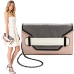 Unique Colorblock Milly Clutch Bag FREE GLOBAL SHIPPING