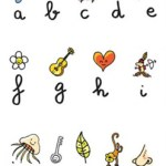Kids Room Decorating Ideas Chic Alphabet Wall Stickers $65