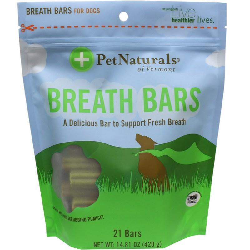 Help Stop Dog Farts Pet Naturals Breath Bars