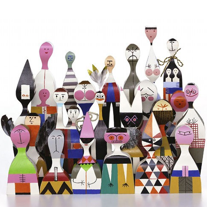 Vitra Wooden Dolls Alexander Girard