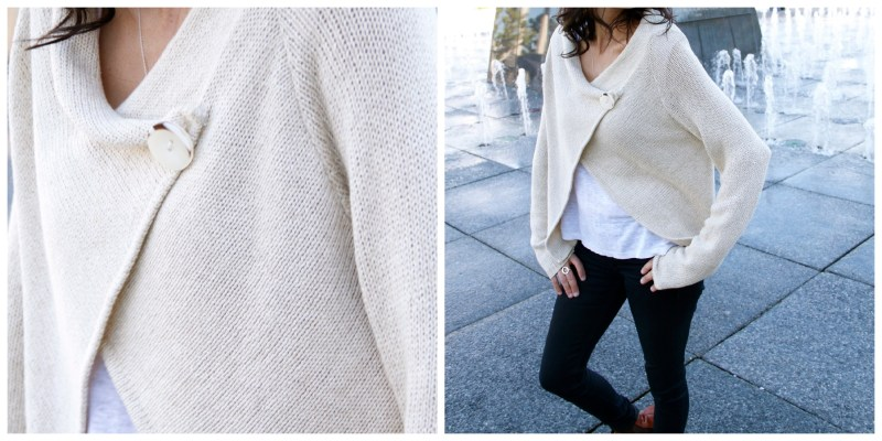 What To Look For In A cardigan - Clean Lines