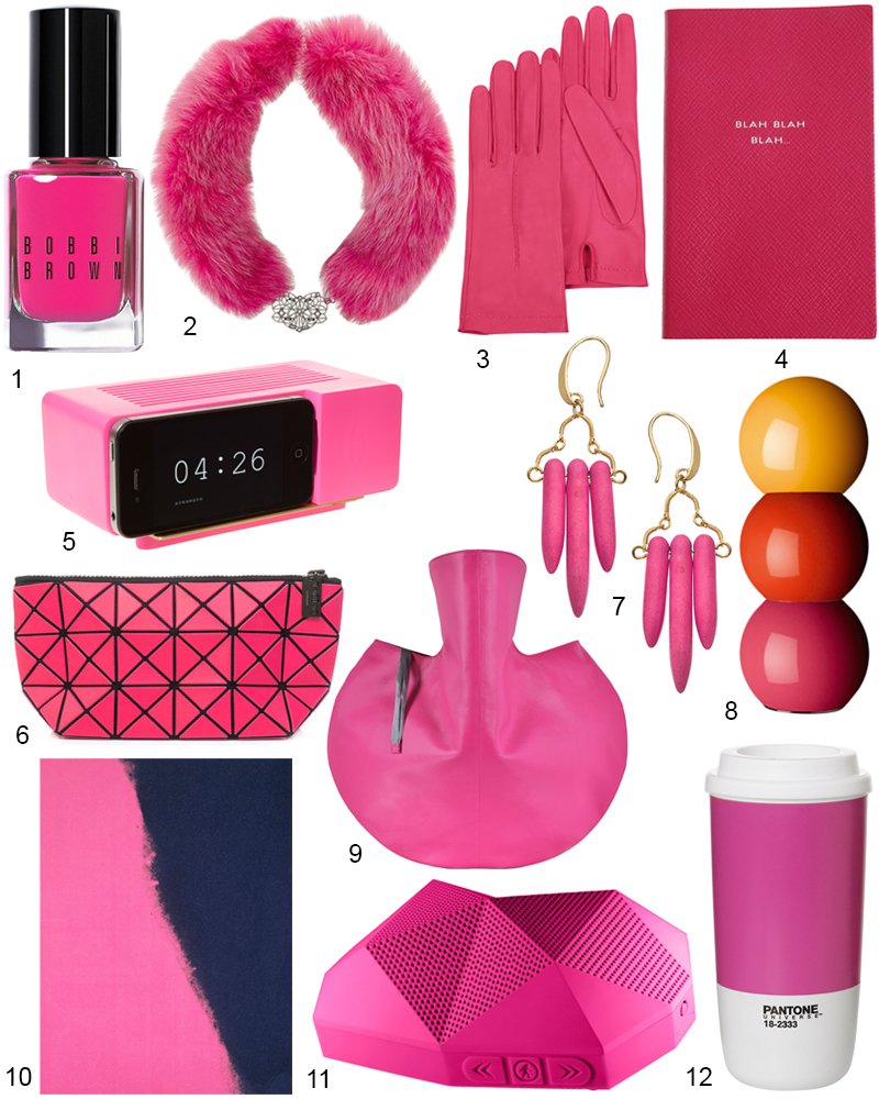 The Hit List - 12 Hot Pink Accessories & Decor