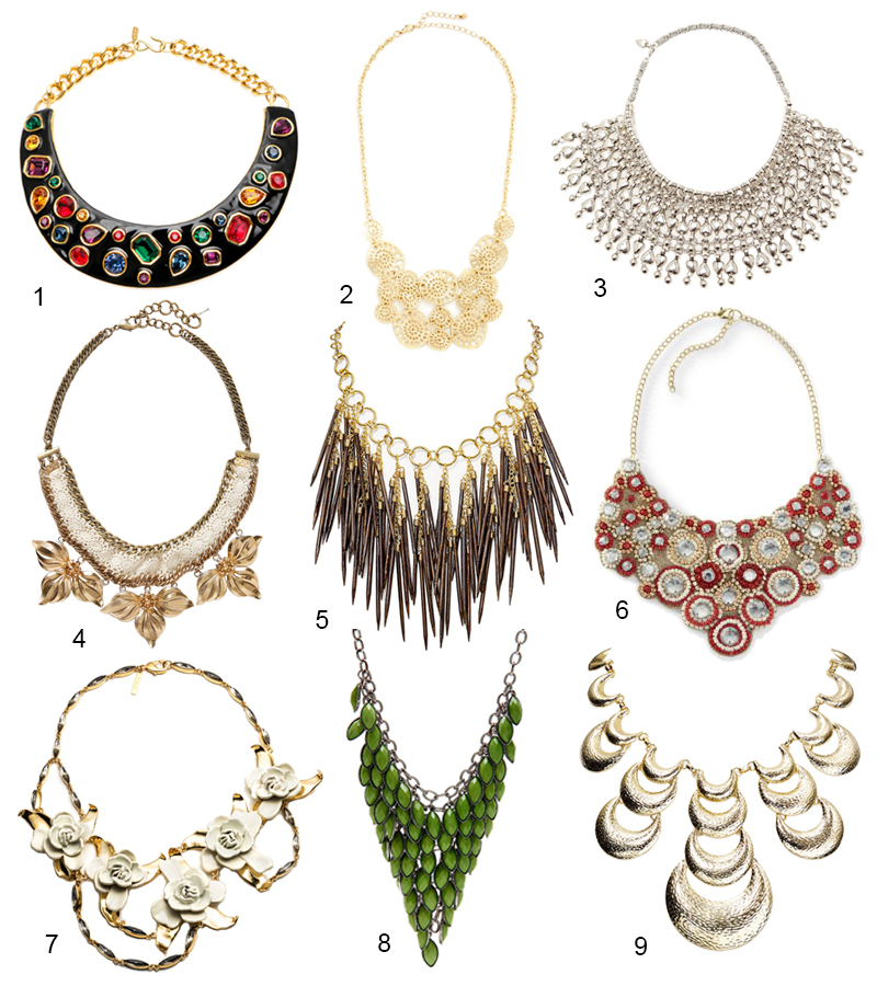 Bib Necklaces - CuratedCool.com