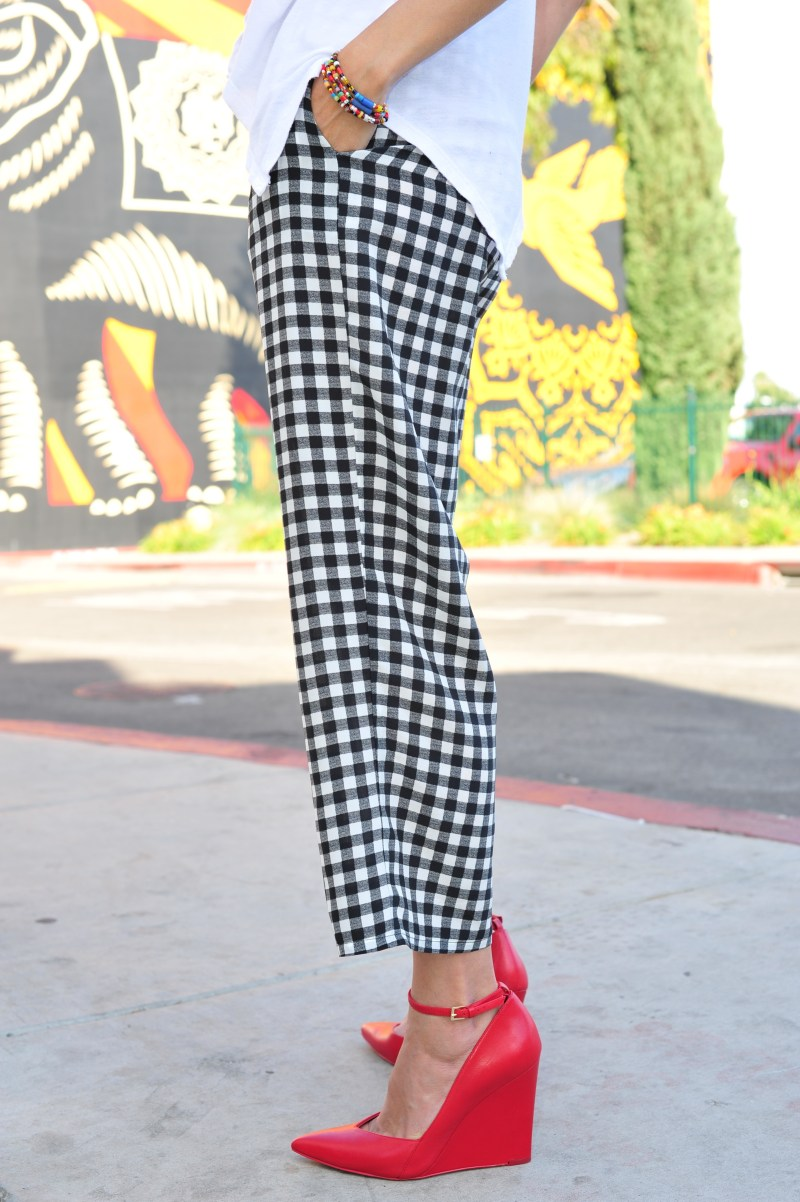 Have You Met The Best Checkered Silk Pants Ever?