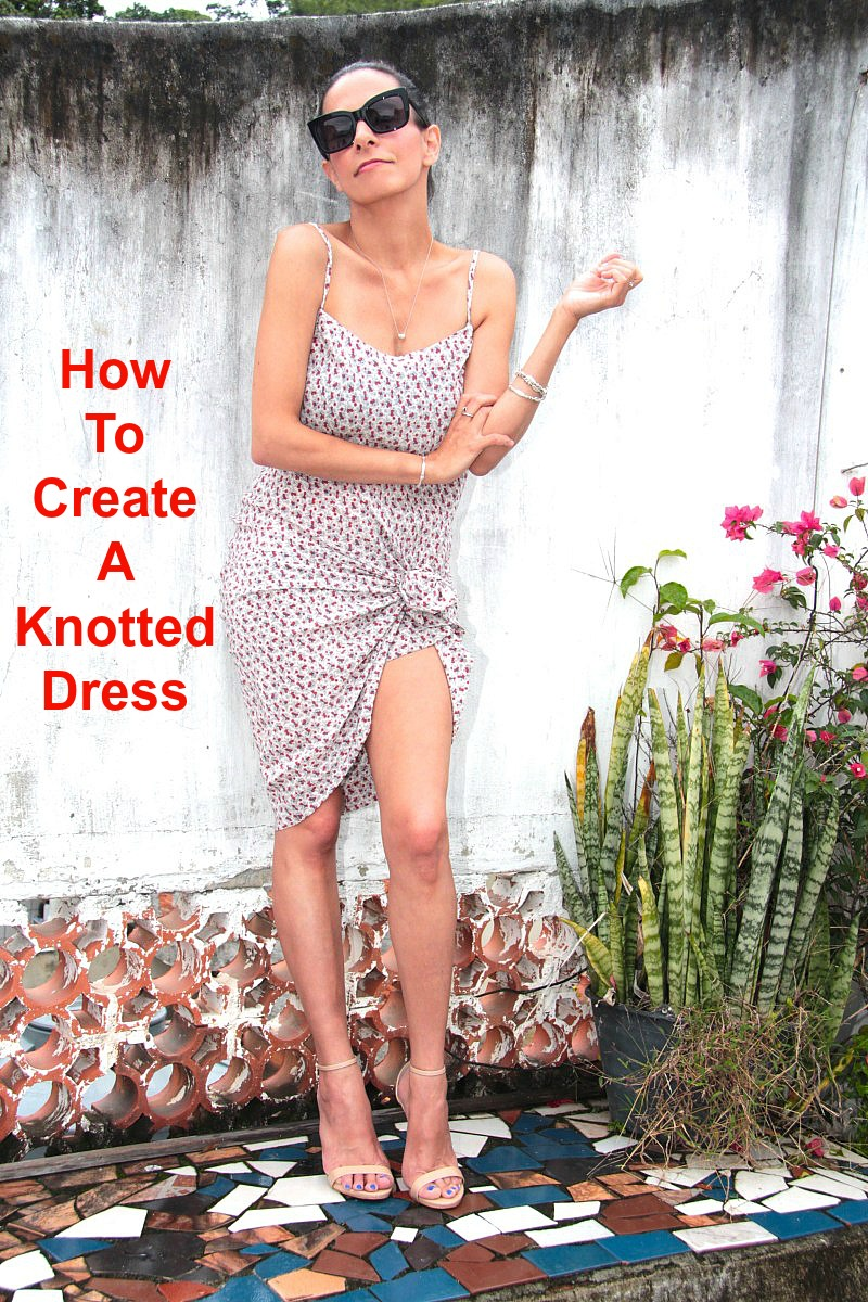 How To Create A Knotted Dress