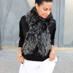 How To Style Black & White In Winter