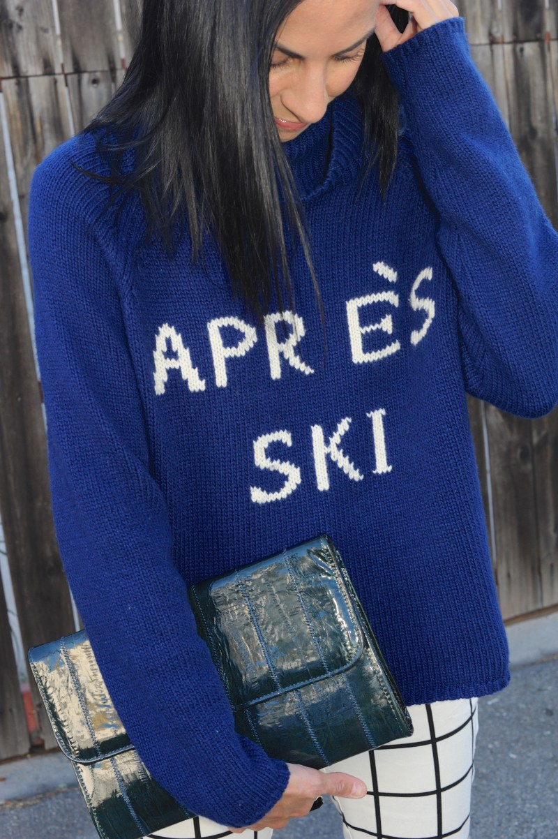 Eighth Day Of Cool - Townsen Logo Apres Ski Sweater