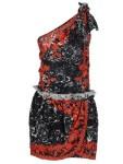 One Shoulder Dress Isabel Marant Mini Dress