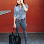 Doubling Down Denim – Gray and Red x 2
