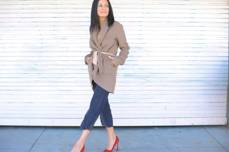 Why You Should't Line A Camel Cashmere Coat