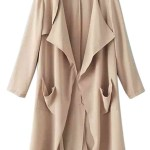 A Minimal Beige Trench Coat That Rocks