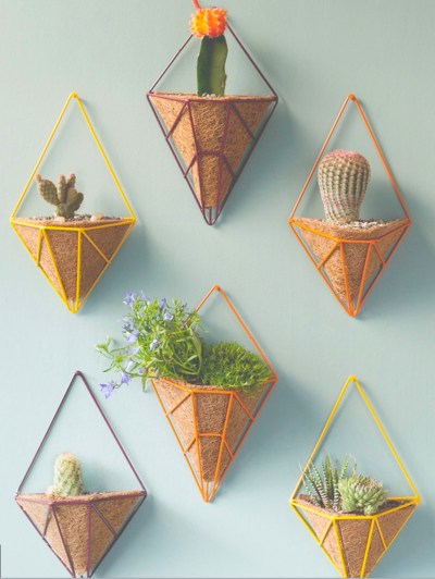 Hedge Hanging Wall Planters