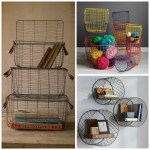 5 Chic Ways To Use A Large Wire Basket