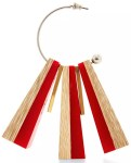 Wood Marni Earrings