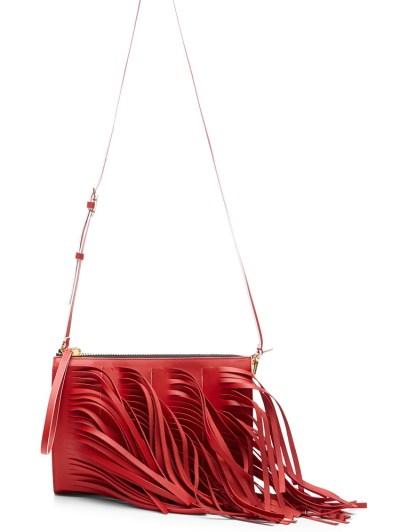 Marni Leather Fringe Bag