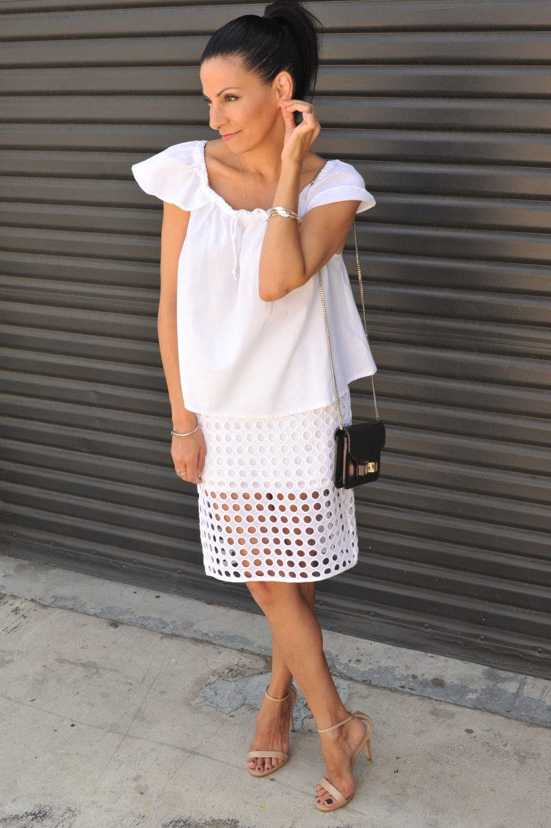 The White After Labor Day Rule Madewell White Top