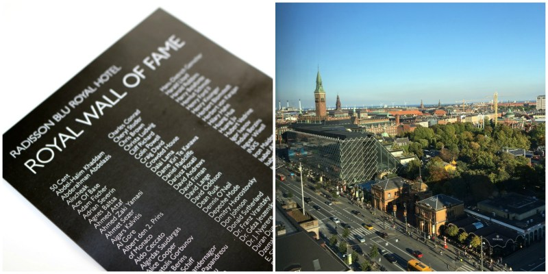 Copenhagen Where To Stay : The Royal Radisson Blu