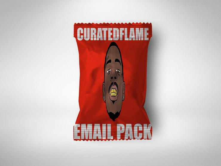 Email Pack (Send beats to rappers) – Curated Flame