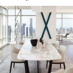 11 White Marble Dining Tables We Love