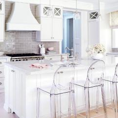Ghost Chairs Recliner Fabric Upholstery 15 Gorgeous White Kitchen With Chair Bar Stools