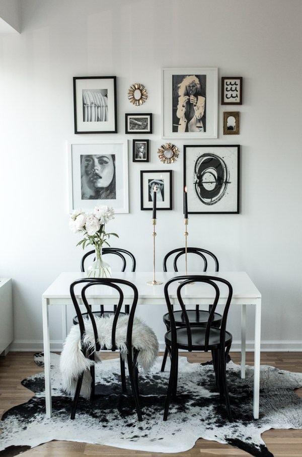 Thonet Bentwood Chairs Dining Room
