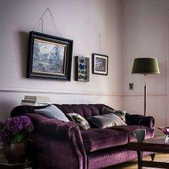 Purple Tufted Sofa Set Mart Dressers 12 Royally Velvet Sofas For The Living Room
