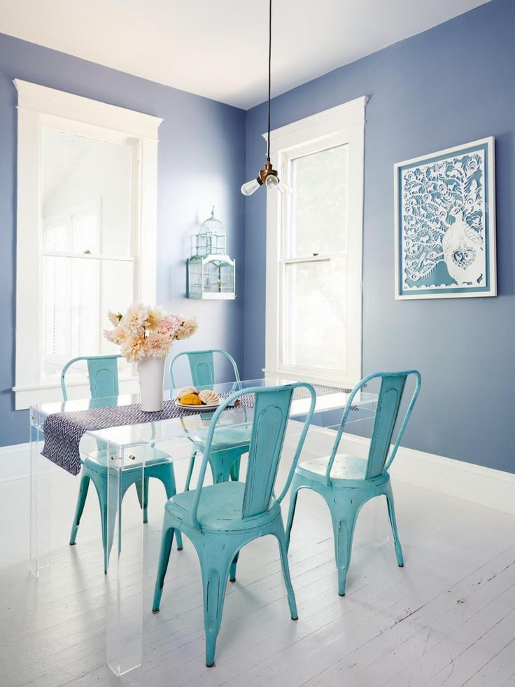 Turquoise Dining Chairs