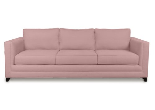 pink sofas modern sectionals 16 chic blush how to style them classic dexter sofa