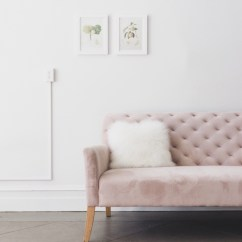 Velvet Grey Tufted Sofa Modern Cream Fabric Sectional 16 Chic Blush Pink Sofas & How To Style Them!
