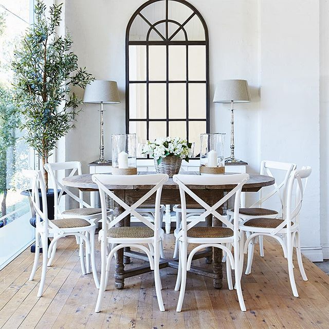 14 Affordable CrossBack Dining Chairs