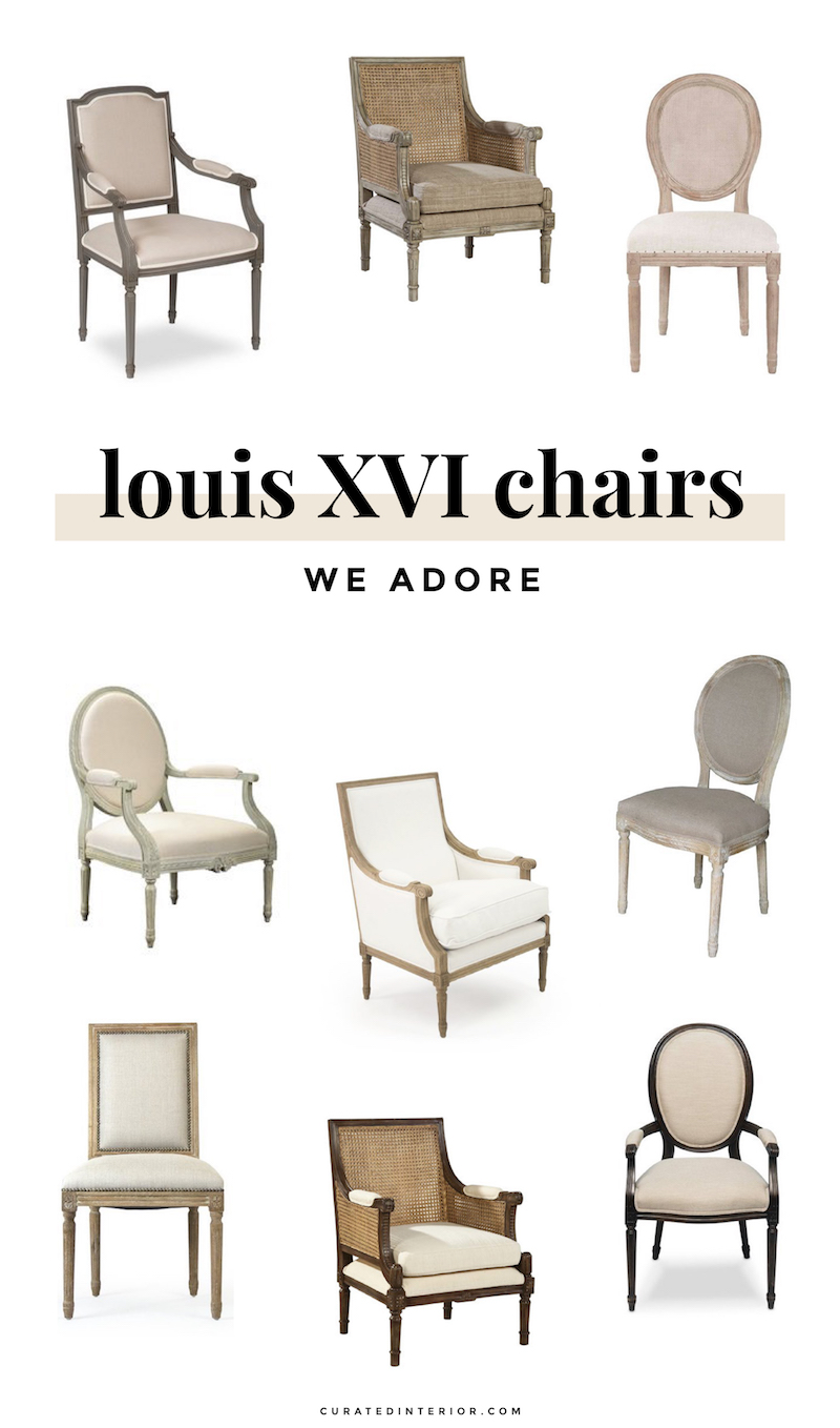Styles Of Chairs 3 Louis Chair Styles How To Spot The Differences