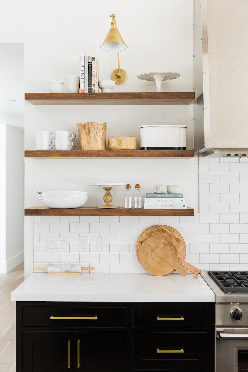 kitchen pulls kwc faucets brass hardware 18 bar knobs black cabinets via studio mcgee