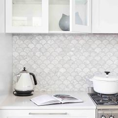 Home Depot Kitchen Backsplash Glass Tile Mexican Style Decor 14 White Marble Ideas You'll Love