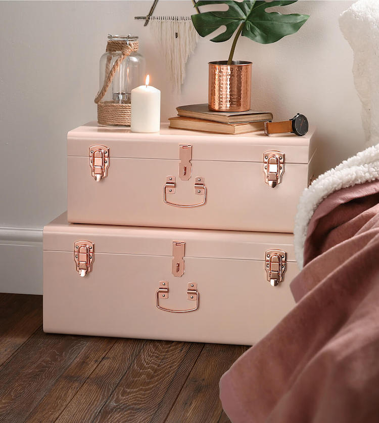 14 EyeCatching Blush Pink  Copper Home Decor Ideas