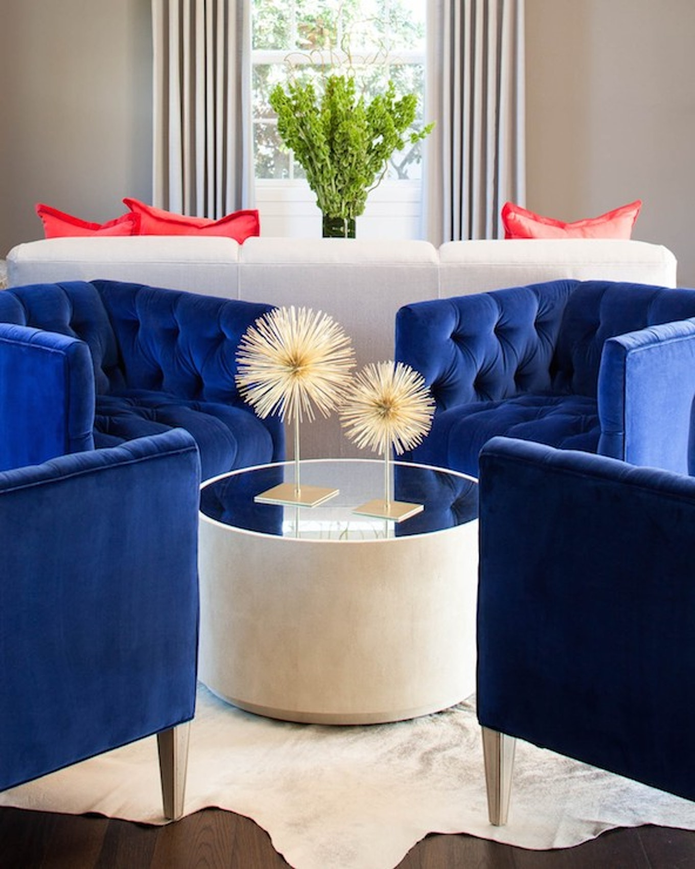 blue chair living room cabinet in 10 beautiful accent chairs for the tufted navy