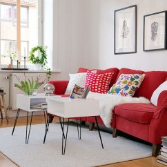 Red Couch Living Room Photos Diy Table Centerpiece 12 Fabulous Sofas For Your