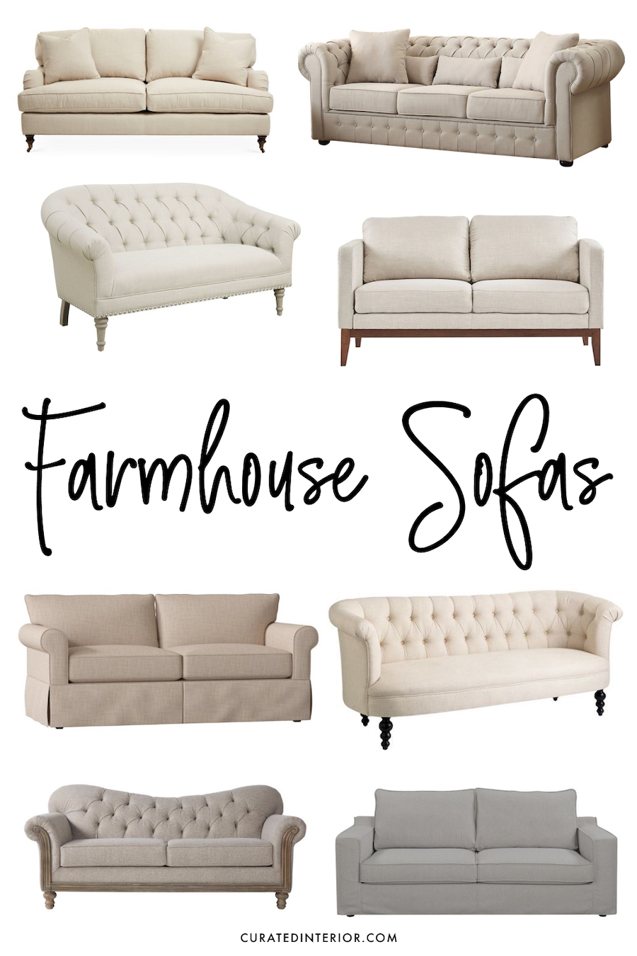 Farmhouse Style Sectional : farmhouse, style, sectional, Perfect, Farmhouse, Sofas, Budgets