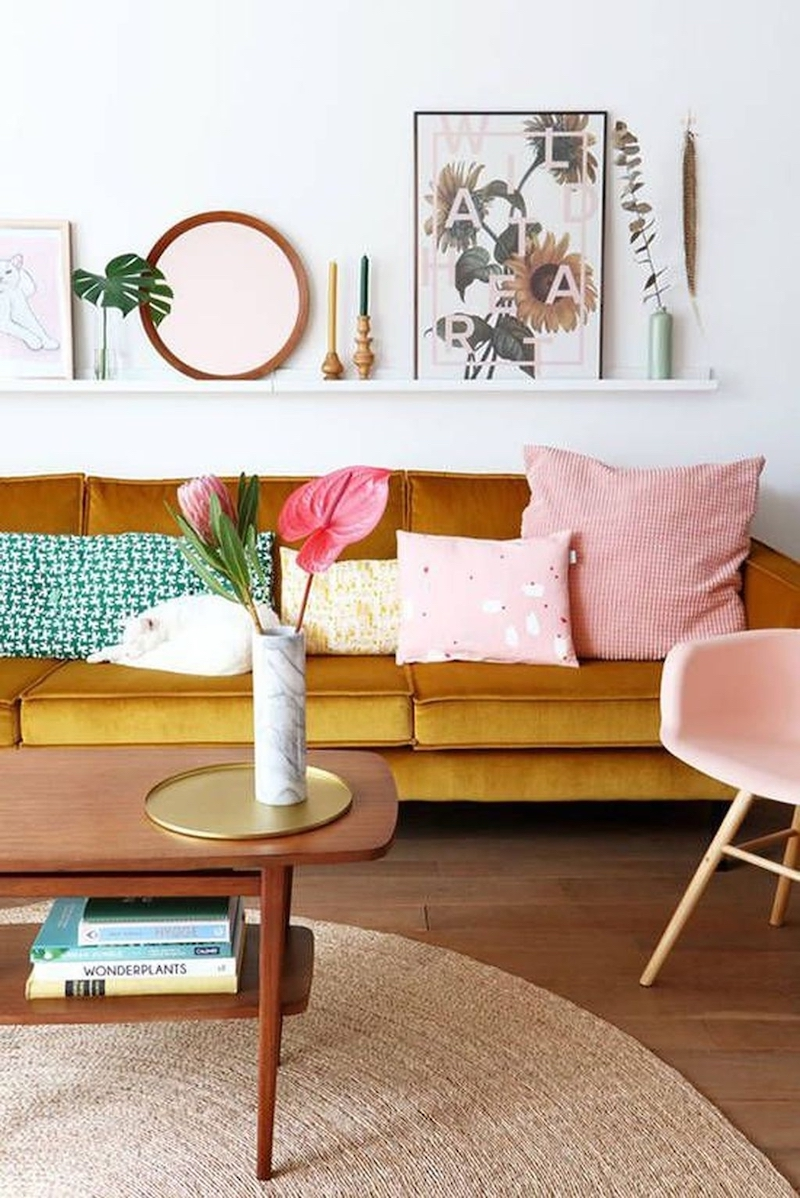 10 Mustard Yellow Sofas For A Mid Century Modern Vibe