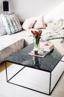 Black Marble Coffee Tables